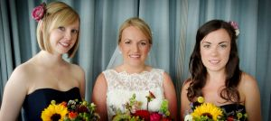 Bridal makeup for a Sussex wedding